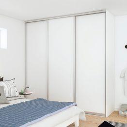 Garderobe Ringsted, Aubo, hvid mat