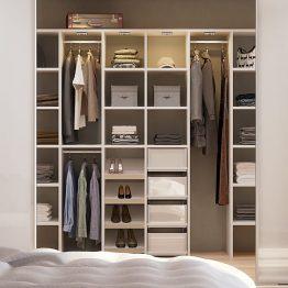 Garderobe Ringsted, Aubo Exclusiv, hvid glas